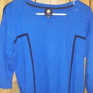 Jones NY sport blue long sleeve size M